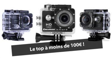 caméra sport type gopro pas cher, à moins de 100 euros