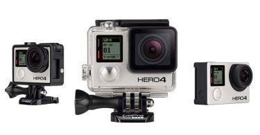 Photo de la caméra sport GoPro Hero 4 Black Edition