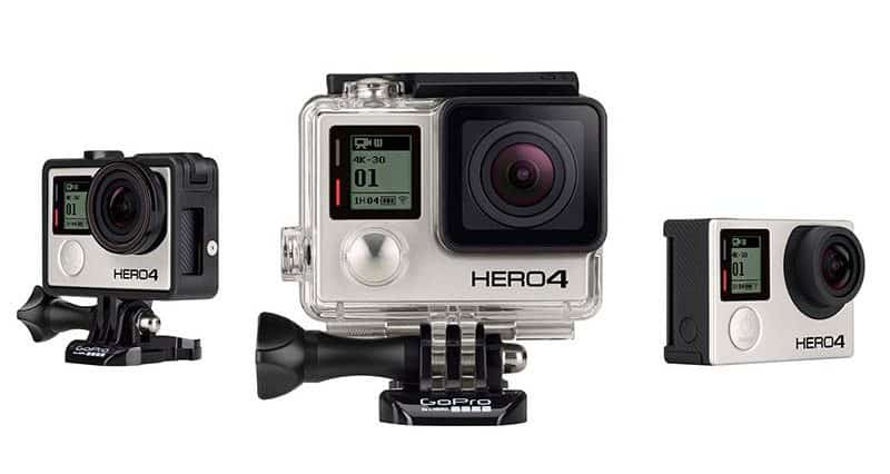 Photo de la caméra sport GoPro Hero 4 Black Edition