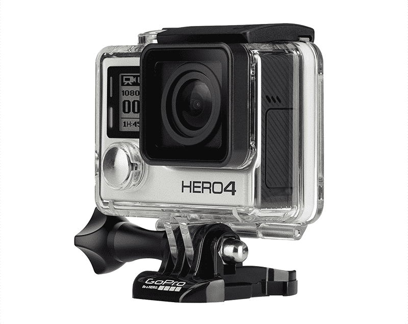 Photo de la camera sport GoPro Hero 4 Silver edition