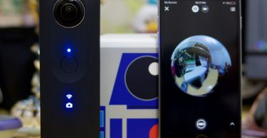 test de la camera 360 de Ricoh : la Theta S