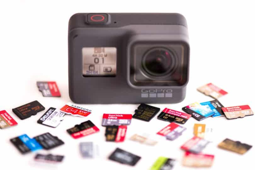 Quelle carte m moire choisir pour sa gopro point sur la for Quelle camera ip choisir