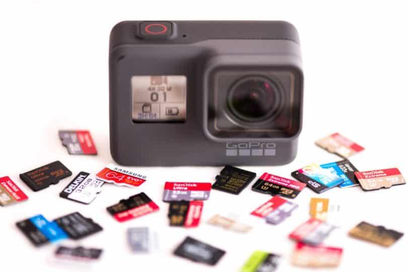 quelle carte sd pour gopro Quelle carte mémoire choisir pour sa GoPro ? Point sur la