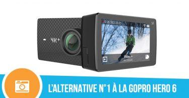 test de la caméra sportive Yi 4k plus de marque YI