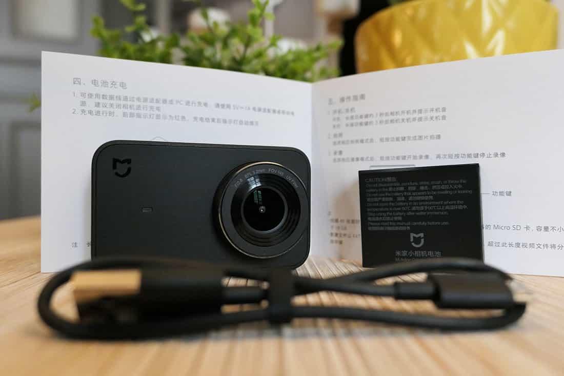 contenu de la boîte de la Xiaomi Mijia